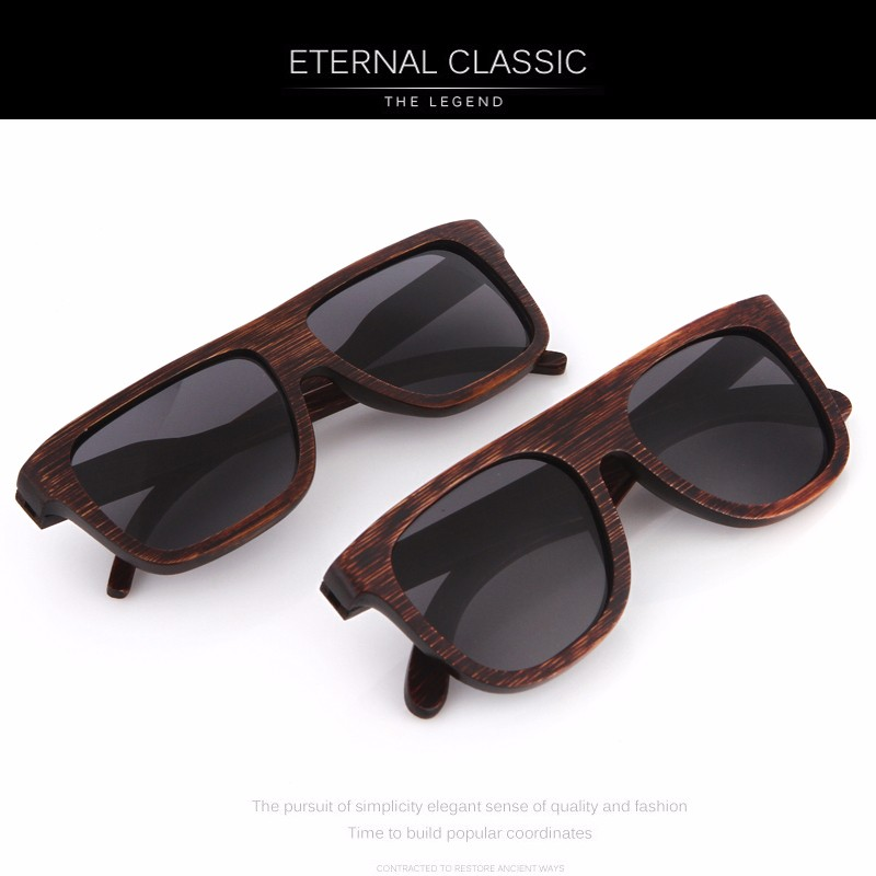 c1e1f8f74b KITHDIA Wood Sunglasses Polarized Men Brand Designer Driving Bamboo ...