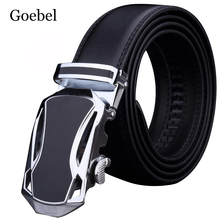 Goebel Man's Leather Belt Automatic Buckle Men Casual Belt All-Match PU Leather Stylish Car Shape Classic Fashion Man Belt(China)
