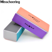 4pcs/pack Sanding Nail Art Files Buffer Block,Professional Buffing Sandpaper for Manicure Pedicure Nail Treatment Tools Supplies