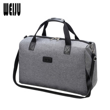 WEIJU New Travel Bag Men Women Large Capacity Travel Bags Hand Luggage Weekend Bag Women Casual Mens Traveling Bags YR0340