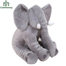Baby Pillow Elephant Feeding Cushion Calm Doll Room Bedding Decoration Bebe Bed Crib Car Seat Kids Plush Toys Christmas Gift