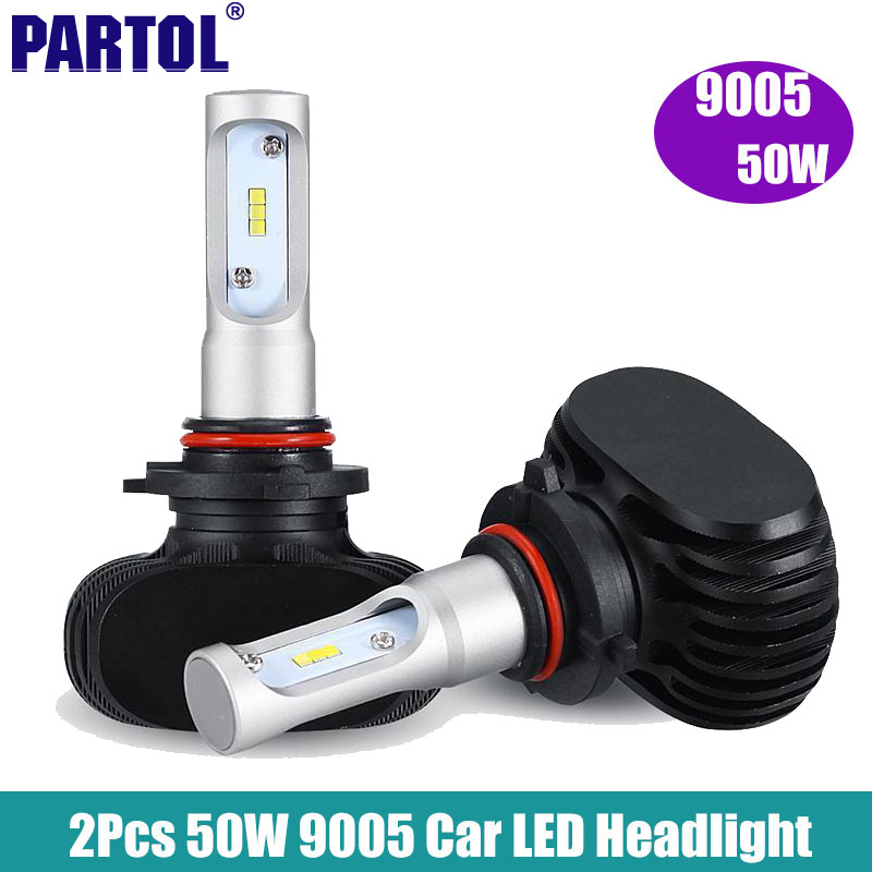 2x 9005 LED Car Headlight Bulbs 50W 8000LM CREE Chips CSP LED Headlights All in one Head Lamp Auto Front Light Bulb 12V Vehicle<br><br>Aliexpress