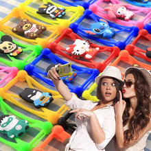 Universal 3D Cartoon Soft Silicon Rubber Case For Samsung Galaxy S2 S3 S4 Mini J7 2016 J5 J1 Note 1 2 3 4 5 I8262 ON5 G5500(China)