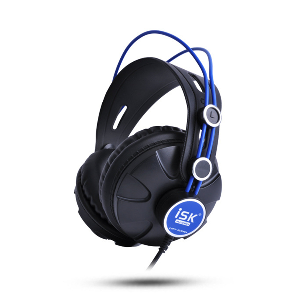 ISK HP680 Pro Monitor Studio DJ Headphones Dynamic 1200mW Powerful Over Ear Earphone Noise Cancelling HiFi Headset auriculars<br>
