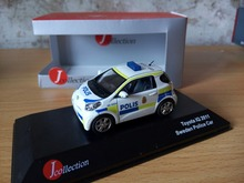 JC 1:43 toyota IQ 2011 sweden boutique alloy car toys for children kids toys Model original box freeshipping(China)