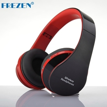 FREZEN NX-8252 Stereo Wireless Bluetooth Headphones V3.0+EDR Sport Headset With Microphone Noise Canceling For Smart Phone Ipad