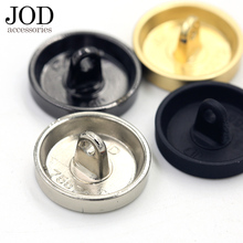 JOD 10-25mm Black Gold Jacket Metal Buttons for Clothing Fashion Jeans Coat Sewing Supplies Applications Clothes DIY Accessories(China)