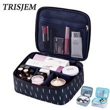 TRISJEM 2018 Women Makeup Bag Flamingo Cosmetic Bag Brand Travel Make Up Bag Travel Organizer Kits Necessaries Pouch Portable(China)