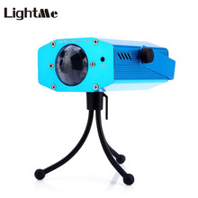 Lightme 3W RGB LED Water Ripple Projector Stage Lights For Party Holiday Club Dj Disco Lights Stage Lamp Outdoor 2017 Hot Sale(China)