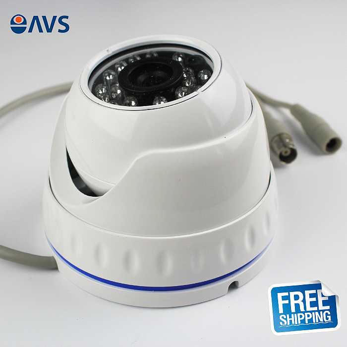 2016 Metal Case TVI 1080P 2.0MP Night Vision Indoor Dome CCTV Camera Surveillance System<br>