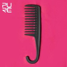 Retail Plugged In Wet Look Shower Comb free shipping high quality hair salon tools Includes convenient hook for easy storage