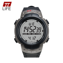 TTLIFE Outdoor Sports Watches Men Waterproof Swimming Running LED Military Digital Analog Multifunction Male Alarm Watches TS07
