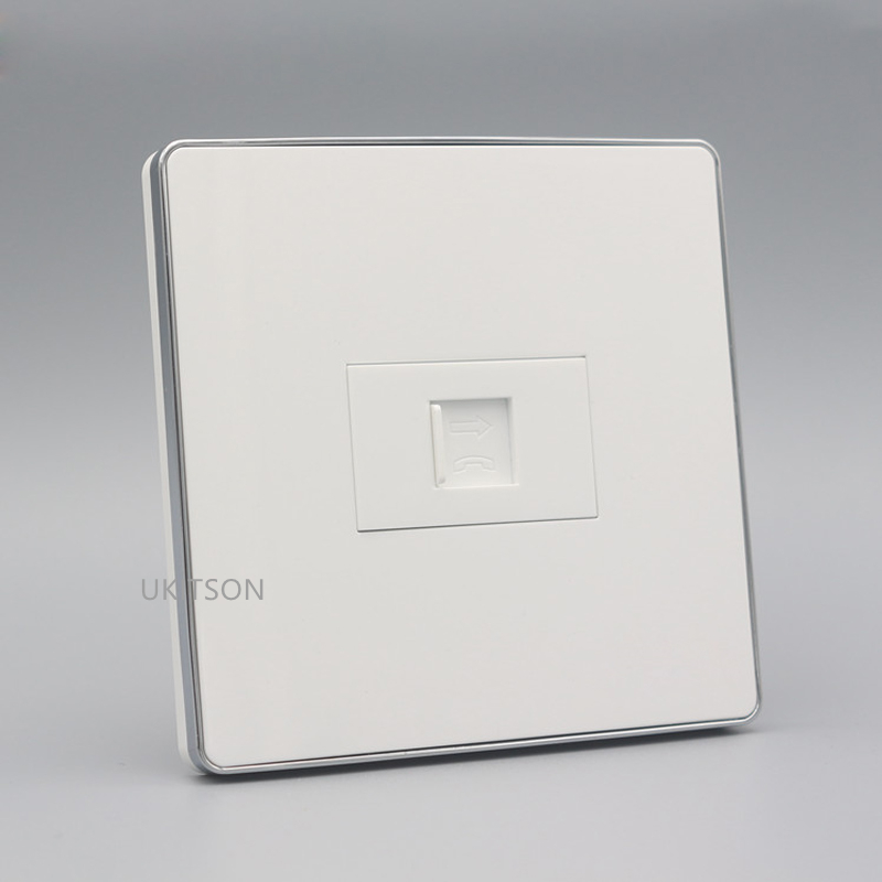 One Socket RJ11 Wall Panel pic 2