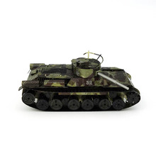 Pandamodel@3D metal model The type 97 TANK Military fan's collection 3D puzzle Wholesale price Stainless steel Etching(China)