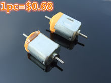 5879030a934 1pc K803 Double Output Shaft DC motor 1.5-6V 3V 11000rpm DIY Model Making Free  Shipping Russia