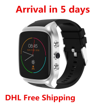 2017 new X01S Android Smartwatch Phone Bluetooth Smart Watch 1.3GHz Dual Core IP67 GPS Watch Cam 512MB 8G Heart Rate 3G WiFi(China)