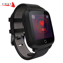 Smart WIFI Bluetooth GPS Tracker Location Heart Rate Monitor Android 5.1 Pedometer Camera Anti-lost Sport 3G Watch Smartwatch