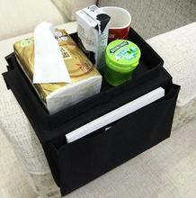 Car Sofa Couch Armrest Hanging Pocket Organizer TV Remote Control Storage Bag for Holder Ipad Remote Controller Book Magazine