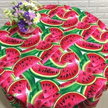 110*100cm new watermelon lovely Cotton Fabric Baby Wallpapers Diy Handmade Craft Bedding Home Cloth Purse Quilt