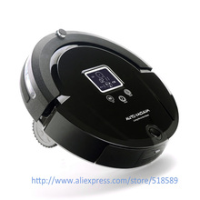 Newest Lowest Noise Intelligent Robot Vacuum Cleaner For Home A320 Free Shipping(China)