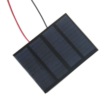 BUHESHUI Mini 1.5W 12V Solar Cell Module Polycrystalline Solar Panel+Cable/Wire DIY Solar Battery Charger Study 115*85MM Epoxy(China)