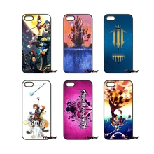 For Xiaomi Redmi Note 2 3 3S 4 Pro Mi3 Mi4i Mi4C Mi5S MAX iPod Touch 4 5 6 Anime Kingdom Hearts Stained Glass comic Phone Case(China)
