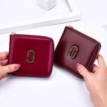 The new purse lady short version of the multi-functional fashion single zipper zero wallet manufacturers spot(China)