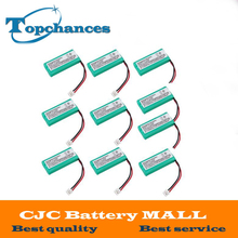 10 Pieces a Lot 2.4V 800mAh Ni-MH Cordless Phone Battery for Uniden BT-1011 BT-1018 BT101 Free Shipping
