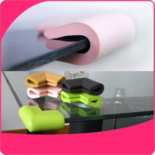 glass table corner guards Corner Protector Baby Safety Soft Edge Guards Infant Glass Table Edge & Corner Guards With 3M Sticker
