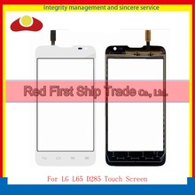 "4.3"" For LG L65 D280 D280N And D285 Dual Sim Card Touch Screen Digitizer Sensor Front Outer Glass Lens Panel Black White Track"