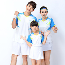 Quick Dry Badminton Tops Breathable High-end Competitive Level Child/Men/Women T-Shirts Sports Shirt Table tennis jerseys S-4XL(China)