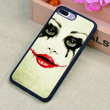 Harley Quinn Sketch Art Print Phone Case Skin Shell For iPhone 6 6S Plus 7 7 Plus 5 5S 5C SE 4 4S Rubber Soft Cell Housing Cover