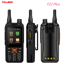original upgrade F22 Plus Android Smart outdoor Rugged Phone Walkie Talkie Zello PTT 3G Network intercom Radio Enhanced Antenna