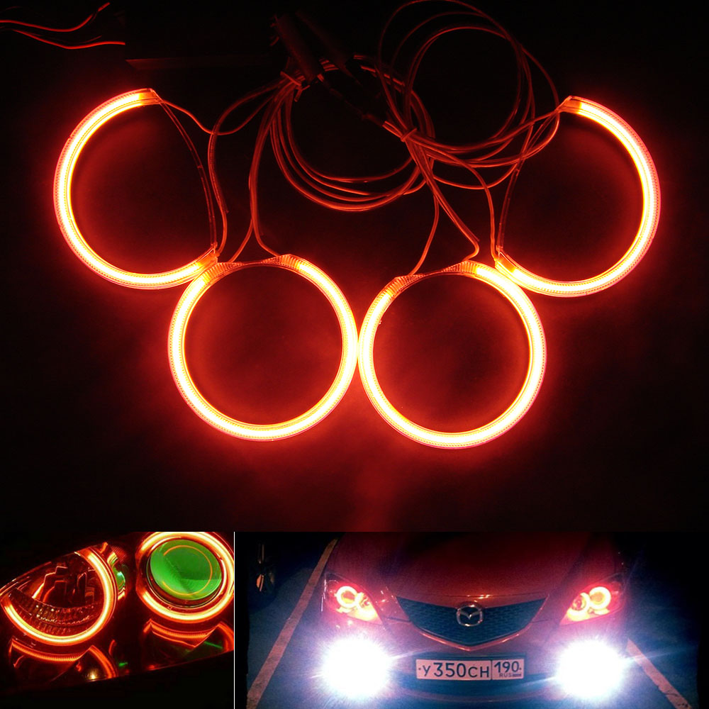 High quality waterproof hotsale for Mazda 3 CCFL Angel Eye mazda 3 For Headlight Decoration head lamp<br>