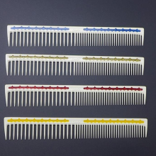 Heat Resistant Japanese Resin Hairdresser Haircut Comb In Durable Material 1 Pcs 19cm Hairdressing Comb For Hair Cutting Leader