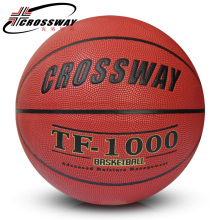 2017 CROSSWAY Brand Basketball PU Leather Official Basketball Size 7 715 indoor and outdoor basketball ball Free With gift(China)