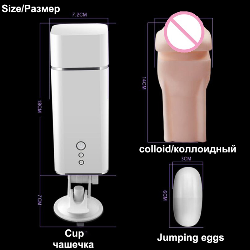 MizzZee Male Masturbator man Silicone Vagina real pussy Mens sex toys Vibrator Sextoys adults men Masturbador masculino