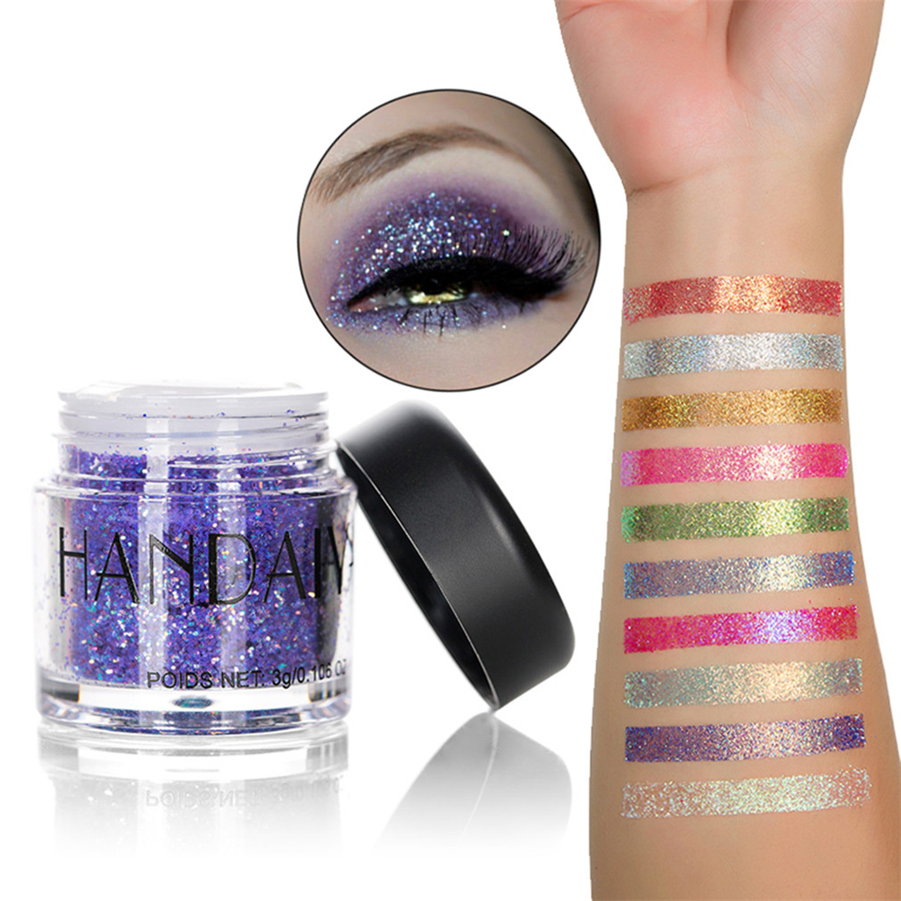 Beauty & Health United Body Glitter Tattoo Holographic Face Hair Sequins Eyeshadow Mermaid Makeup Loose Pigment Powder Chunky Glitter For Art Festival Attractive Appearance Beauty Essentials