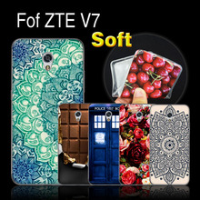 "ZTE Blade V7 5.2 inch Case Cover For ZTE V7 Soft Silicone Phone Protective Case For ZTE Blade V 7 V7 5.2"" Back TPU Case Cover"