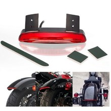 EE support  Universal motorcycle accessories XL883/1200 smoked/red motos motorbike brake lights taillight 12V XY01