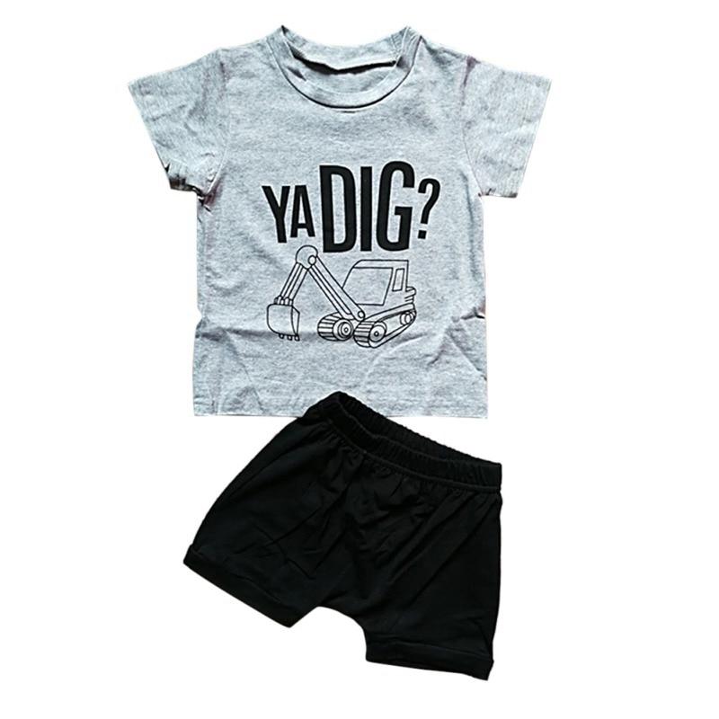 Toddler Boys Ya Dig T Shirt & Shorts Set 14