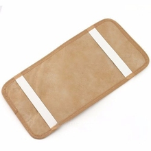 Hot 1PCS Car CD DVD Sun Visor Card Case Storage Holder Clipper Bag Pocket 12pcs Disks Black Beige Gray(China)
