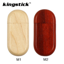 Kingstick wooden USB Flash Drive 8GB 16GB 32GB 64GB 4GB USB 2.0 Pen Drive Memory Flash Pendrive memory usb Stick(China)
