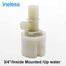 "Free shipping 3/4"" Up Built-in Water Inside Mounted Automatic Float Valve Water Level Control Valve For Solar Water Tank Pool"