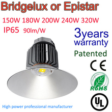 Warranty 3 years industrial lighting, Energy saving Super Power High Bay Led Light 150w With Mean Well Driver Replace 250W HPS