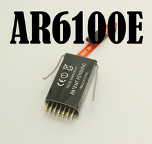 50PCS/LOT RC HELICOPTER AR6100E RC Receiver 2.4GHz 6ch FOR JR DX6i DX7 DX8 Model parts(China)