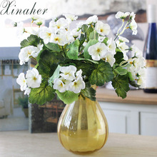 XINAHER Artificial Begonia Flower 2017 spring new pattern home decoration artificial flower simulation flower for wedding(China)