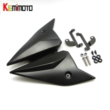 KEMiMOTO MT-09 FZ-09 MT09 MT 09 2017 Side Panels Cover Fairing Cowling Plate Covers For Yamaha MT-09 FZ 09 2014 2015 2016 2017(China)