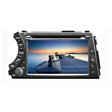 2 din 7 inch Car DVD with GPS for SSangyong New Korando  Actyon sports 2005-2013 with Bluetooth Radio iPod USB SD  Free map