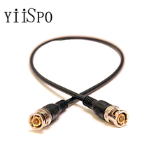 YiiSPO Wholesale CCTV Camera Accessories 0.5M Coaxial Extend Cable BNC Male to BNC Male cable For CCTV Camera